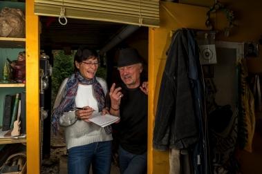 Peter Reusse, Schauspieler, Schriftsteller, Maler. Heidensee 30.04.2015 Foto: Nikola Text: Beuchler Peter Reusse 40.jpg