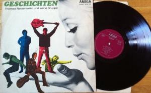 """Team4-""""Geschichten"""", die zweite LP der ersten deutschen Beatgruppe"""