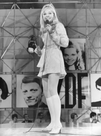 Nina Lizell in der ZDF-Hitparade